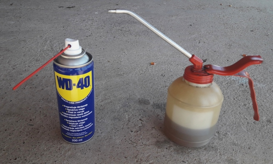 wd 40 as engine oil